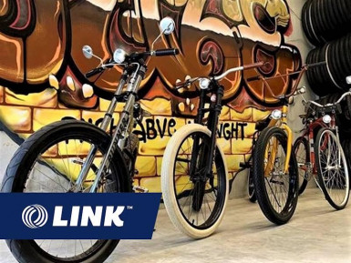 Custom Bike Design and Manufacture Business for Sale Brisbane