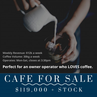 Gorgeous Little Cafe Business for Sale Perth