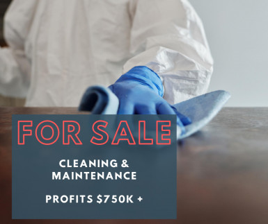 Cleaning & Maintenance Business for Sale Perth