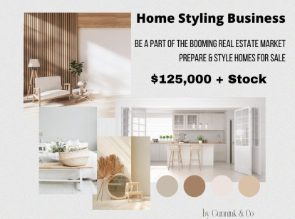 Home Styling Business for Sale Perth