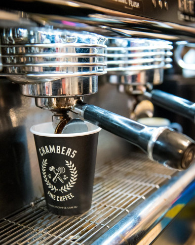 Chambers Fine Coffee Franchise for Sale Sydney