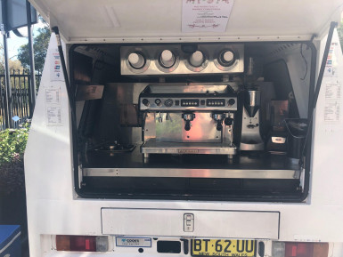 Mobile Coffee Truck Business for Sale Sydney