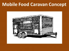 Mobile Food Caravan  Business  for Sale
