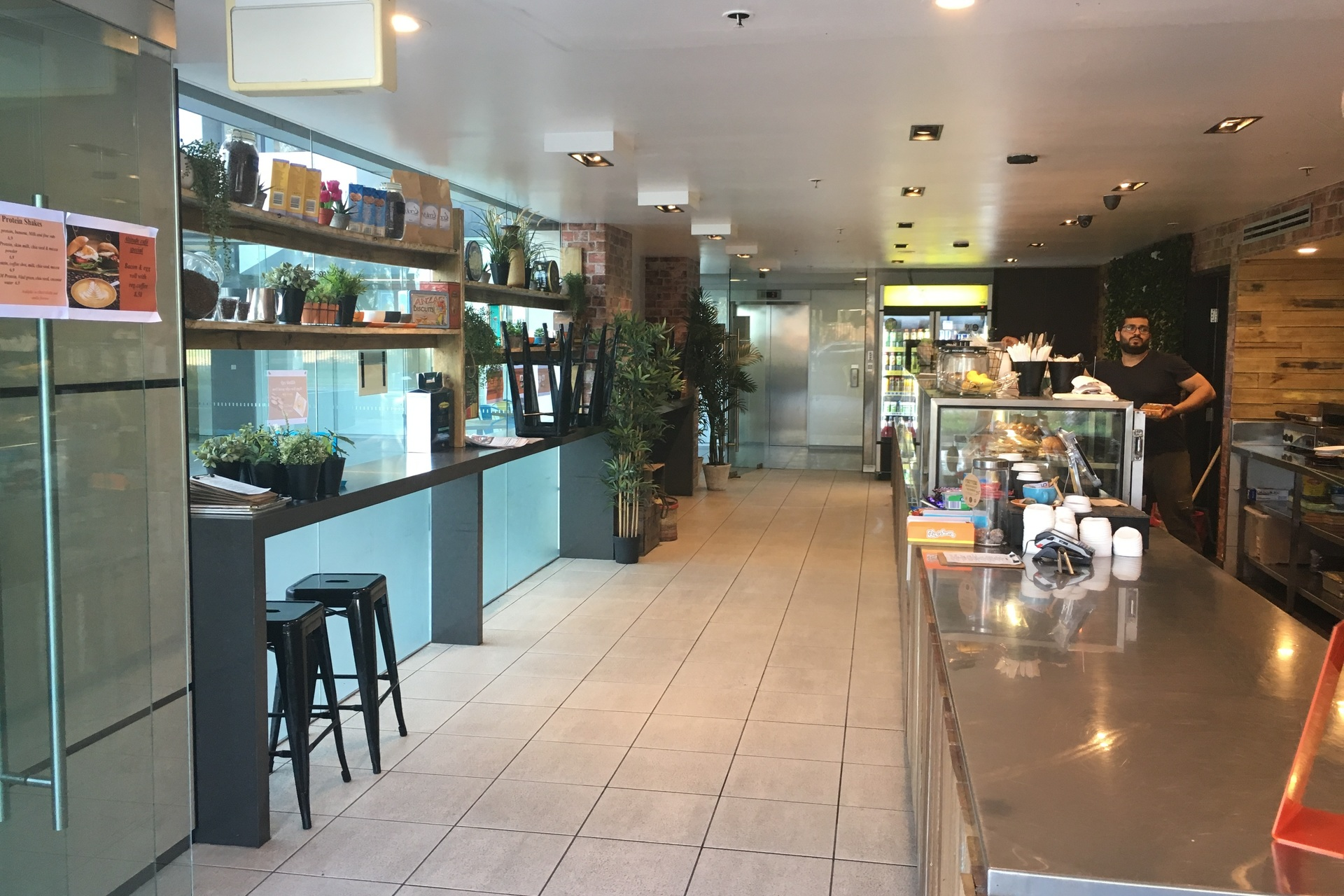 Lobby Style Cafe for Sale Sydney