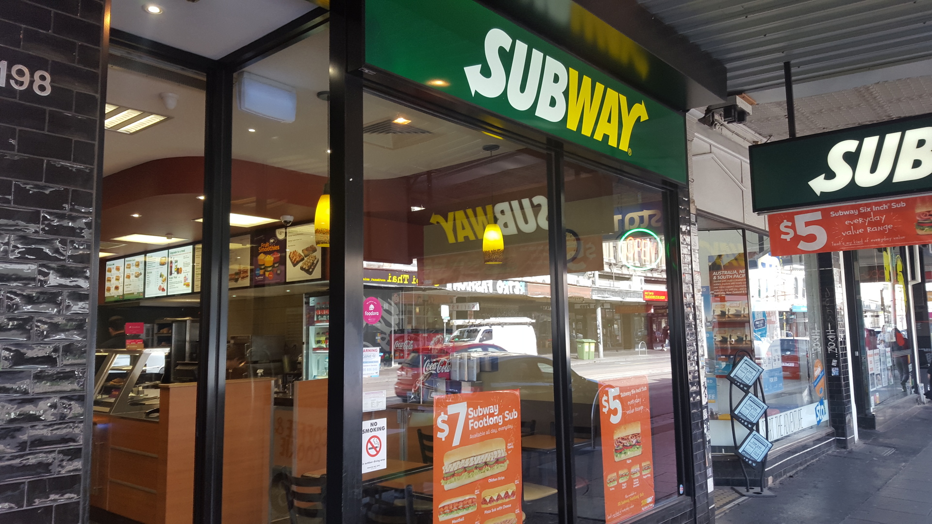 Inner City Subway Franchise for Sale Collingwood Melbourne