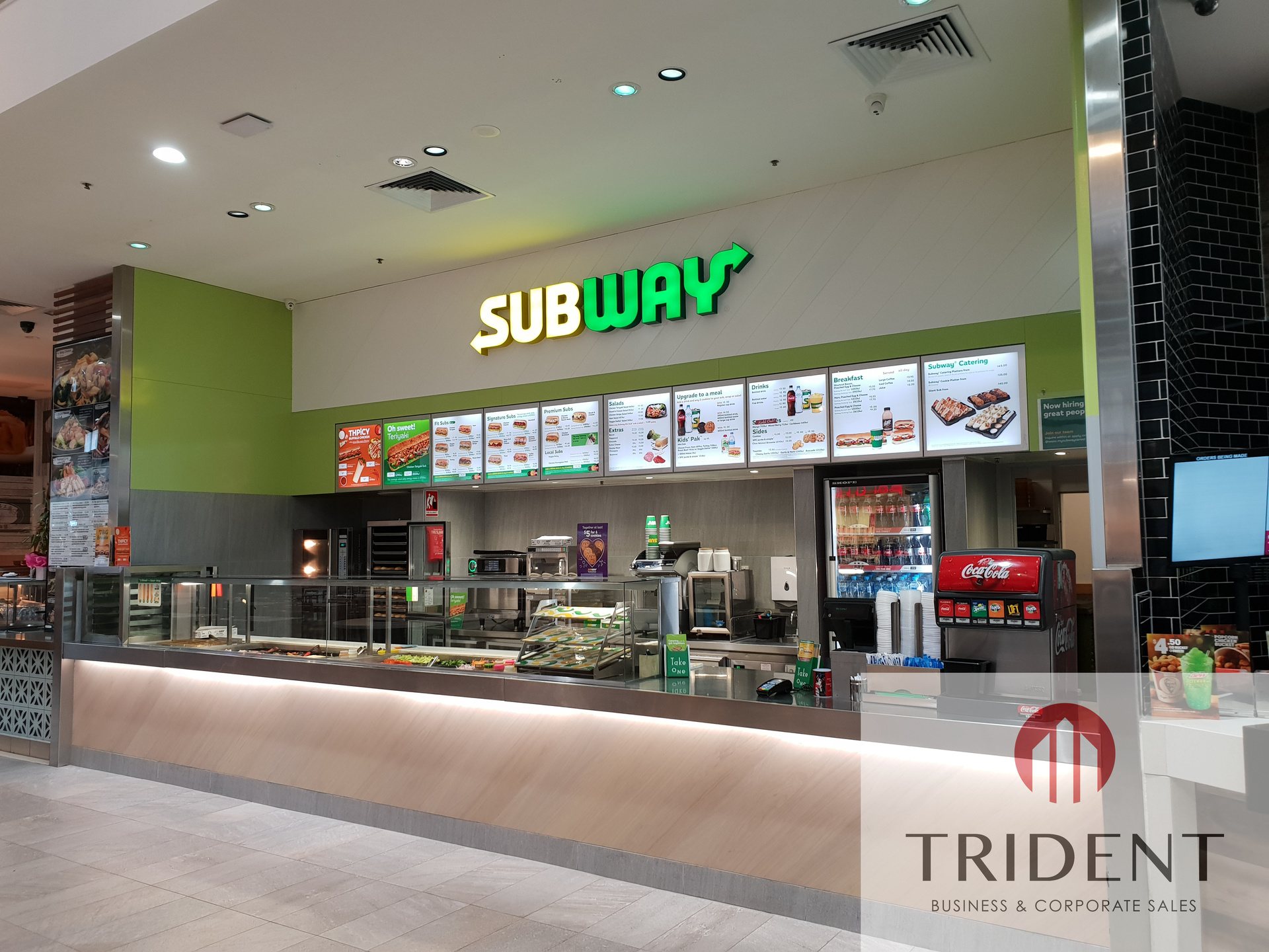 Subway Food Court Franchise for Sale Bendigo VIC