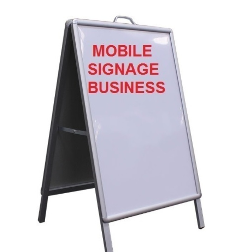Mobile Signage Business for Sale Melbourne