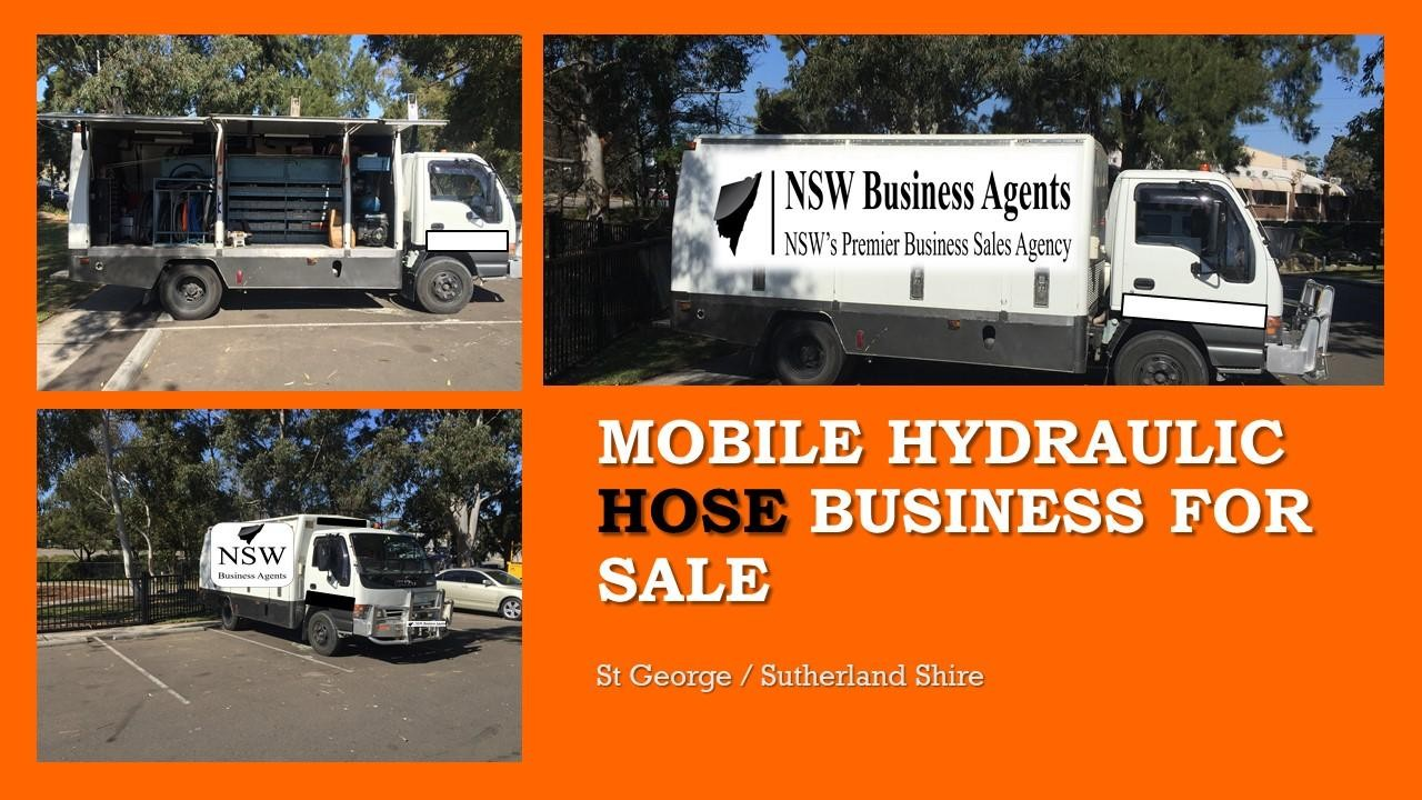 Mobile Hydraulic Hose Business for Sale Sutherland Shire Sydney