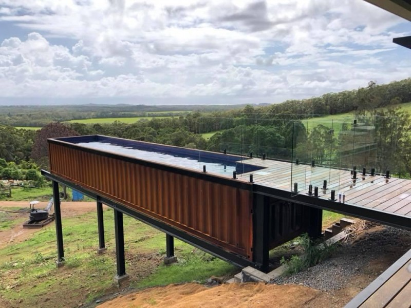 Shipping Container Pools Business for Sale Sunshine Coast