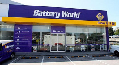 Battery World  Business  for Sale