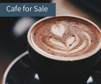 Trendy Cafe  Business  for Sale