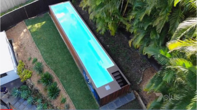 Shipping Container Pools  Business  for Sale